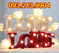 Đèn trang trí chữ love 3D
