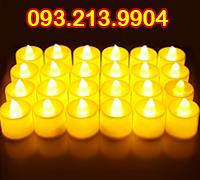 Nến led tealight điện tử hộp 24 cái